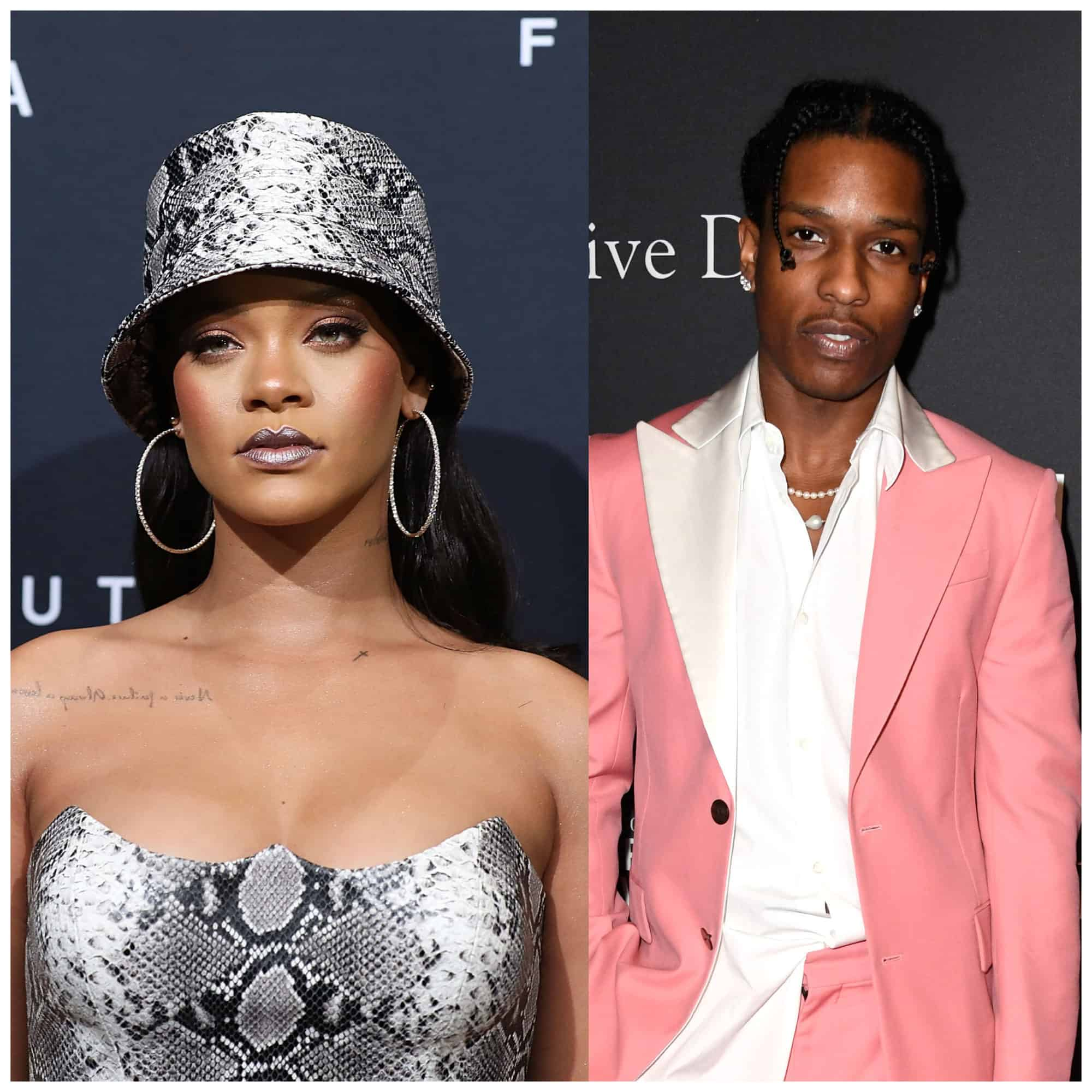 ASAP Rocky and Rihanna discovered holding hands in Barbados (images)