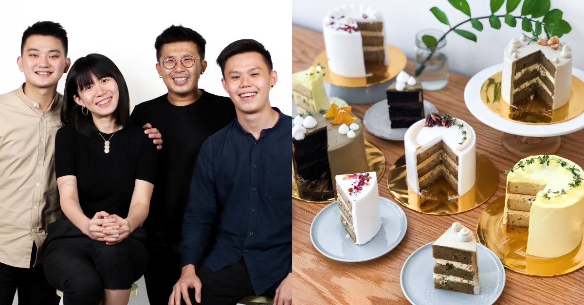 Large selection of cakes and desserts for delivery in M'sia