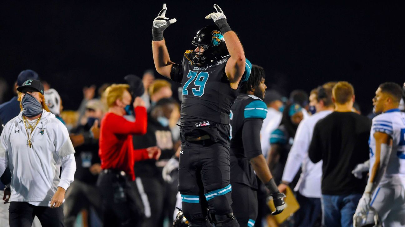 Coastal Carolina-BYU is the game of the year, bad teams win big and more from an upside-down Saturday