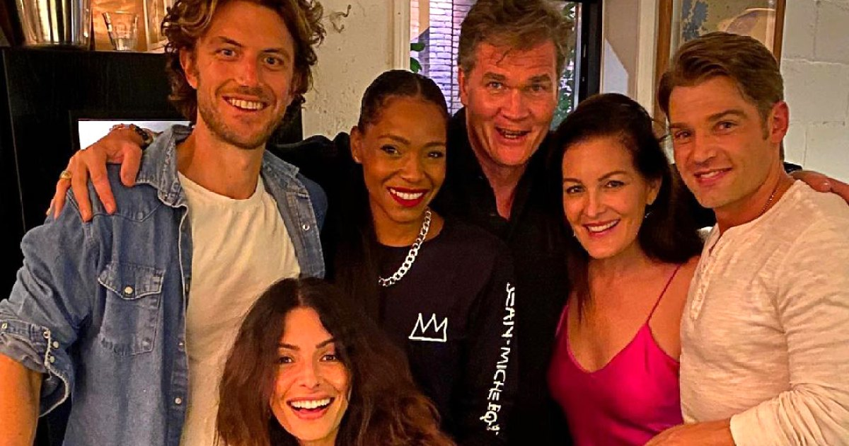 The best behind the scenes moments with the 'Sex / Life' cast: photos