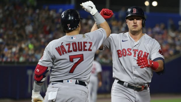 Red Sox hammer another 5 homers to defeat Blue Jays in the Buffalo Finals