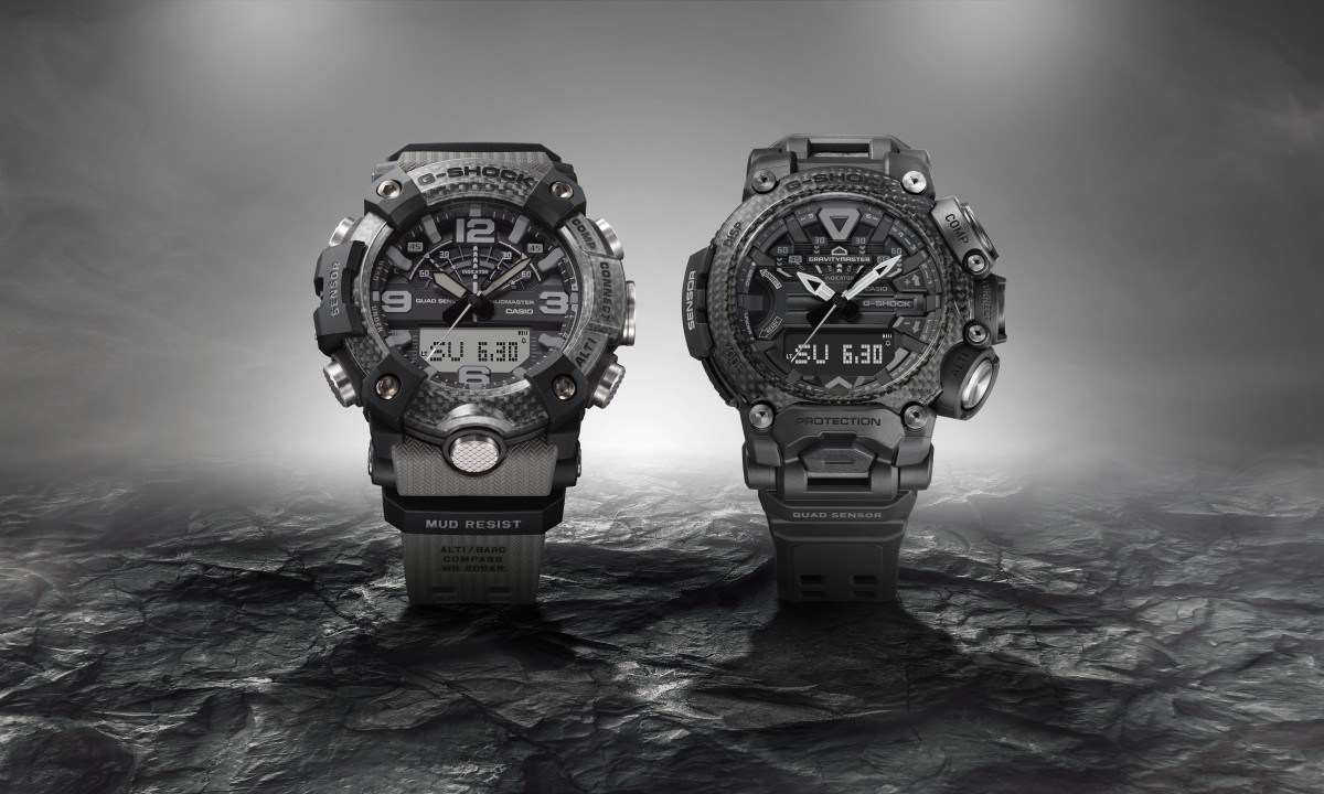 G-SHOCK brings the new master of G watches onto the market in elegant colors in black and gray