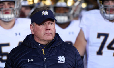 Notre Dame coach Brian Kelly butchers John McKay quote, says 'entire team needs to be executed'