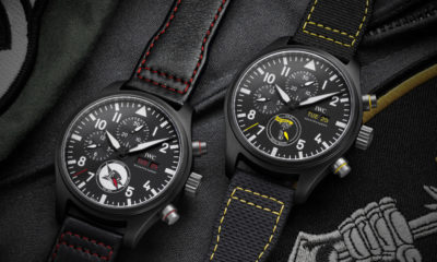 IWC Launches Pilot's Watches Inspired By U.S. Navy Squadrons