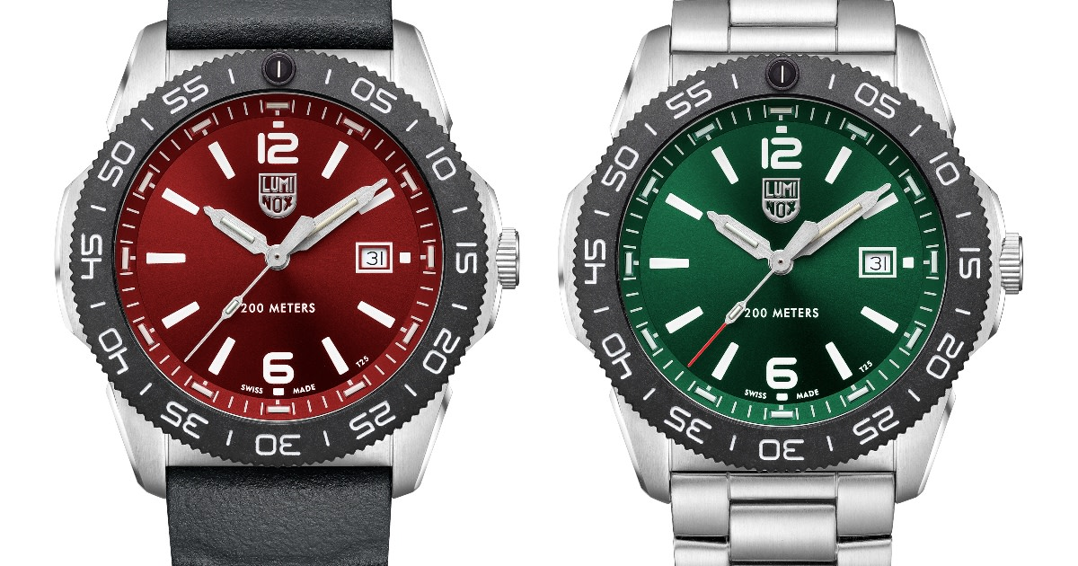 Luminox Launches Pacific Diver Watches Just in Time For Father's Day