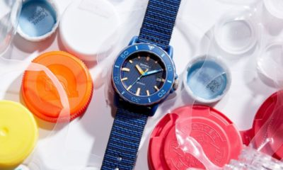 This Shinola 'Sea Creatures' Watch Is Made From Recycled Ocean Waste